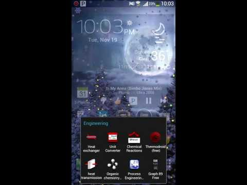 Winter Holiday Live Wallpaper For Android