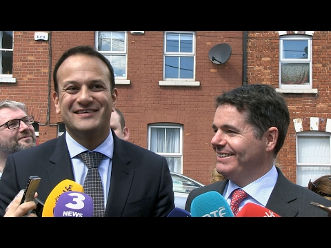 VIDEO: Leo Varadkar quotes Michael Collins as he announces his candidacy for FG Leader