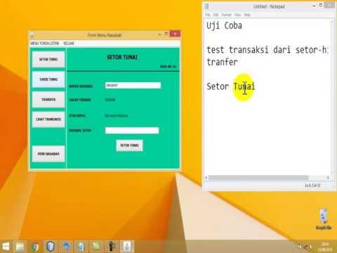 Demo Aplikasi Mini Bank #1