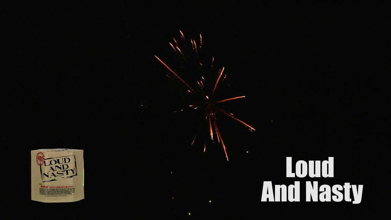 Loud And Nasty | Multi Shot-200 Gram | Winco Fireworks