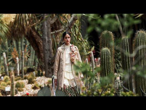 Arid Garden Runway - Melbourne Fashion Week 2020