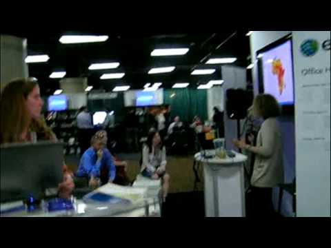 Esri Exhibit at the 2013 AAG Annual Meeting