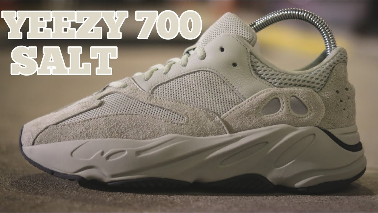 7aff0b2773638 🔥FIRST LOOK🔥 YEEZY 700 SALT REVIEW - YouTube