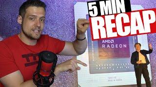 AMD Computex 2019 Recap in 5 Minutes!