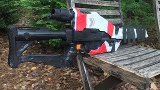 real life ice breaker from destiny functional nerf gun replica