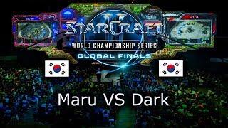 Maru VS Dark - Mistrzostwa Świata 2019 - Ro8 Mecz 4 - polski komentarz