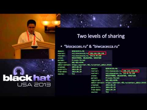 Black Hat USA 2013 - New Trends in FastFlux Networks