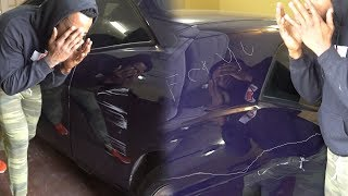 HATER KEYED/VANDALIZED MY CAR OVER A GAME OF BASKETBALL!