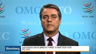 WTO's Azevedo: Every Country Complains About Unfair Trade