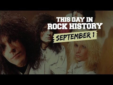 Motley Crue Issues a Classic, Hall of Fame Opens - September 1 in Rock History