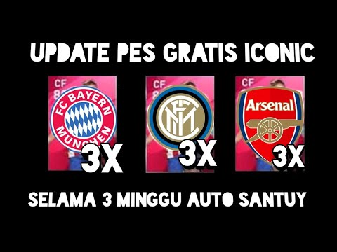 Dapat ICONIC Moment Gratis Update PES Mobile 2020 Android