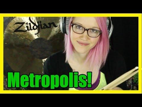 Metropolis Part 1 Dream Theater (Mari Voiles Drum Cover of Metropolis Pt. 1 by Dream Theater)