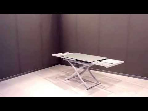 Tavolo trasformabile Dione Plus - YouTube