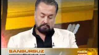 Adnan Oktar'ın Habertürk röportajından ''Mehdi olduğumu iddia etmiyorum''