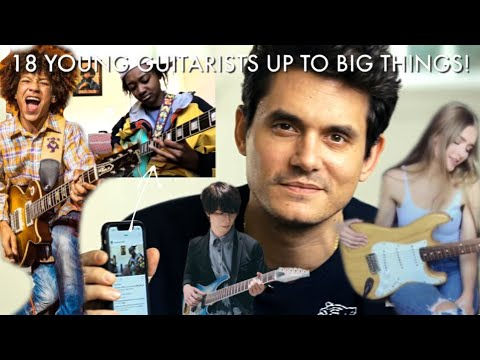 18 Young Guitarists Up To Big Things! (Guitar Is NOT Dead)