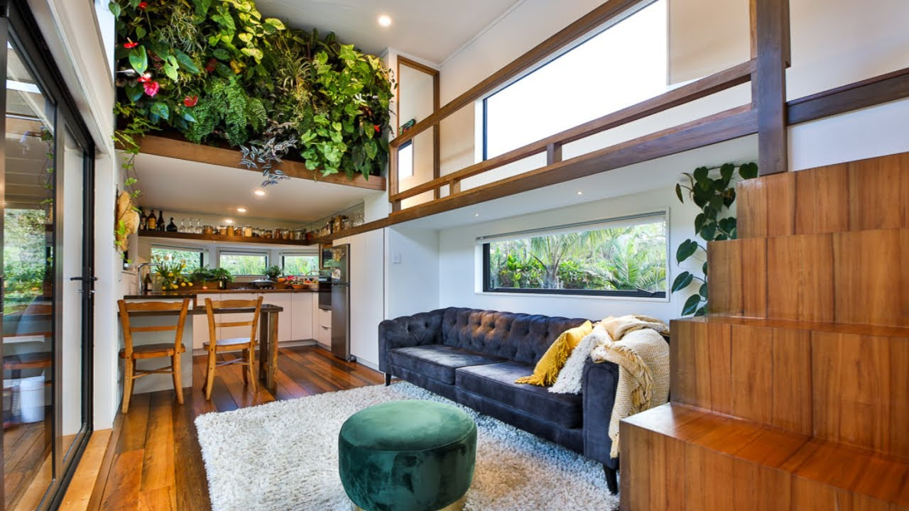Amazing Stunning Tiny House with Full of Absolutely Game Changing Design