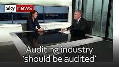 Auditing industry 'needs to be audited'