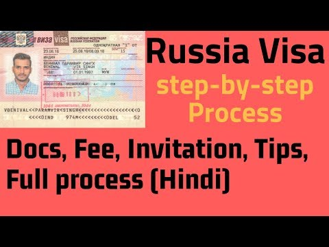 RUSSIA VISA FULL & EASY PROCESS | INVITATION | FEE | DOCUMENTS