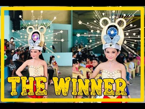 RECYCLED HEADDRESS MAKING CONTEST 2018- CHAMPION!    Mommy Norskie