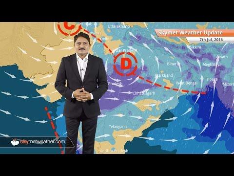 Weather Forecast for July 7: Heavy Monsoon rain in Madhya Pradesh, Uttar Pradesh, Vidarbha