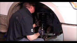 How to Replace Shocks and Struts in a Ford F150 4x4 – 2009 to 2012
