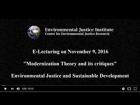 Modernization Theory and its critiques