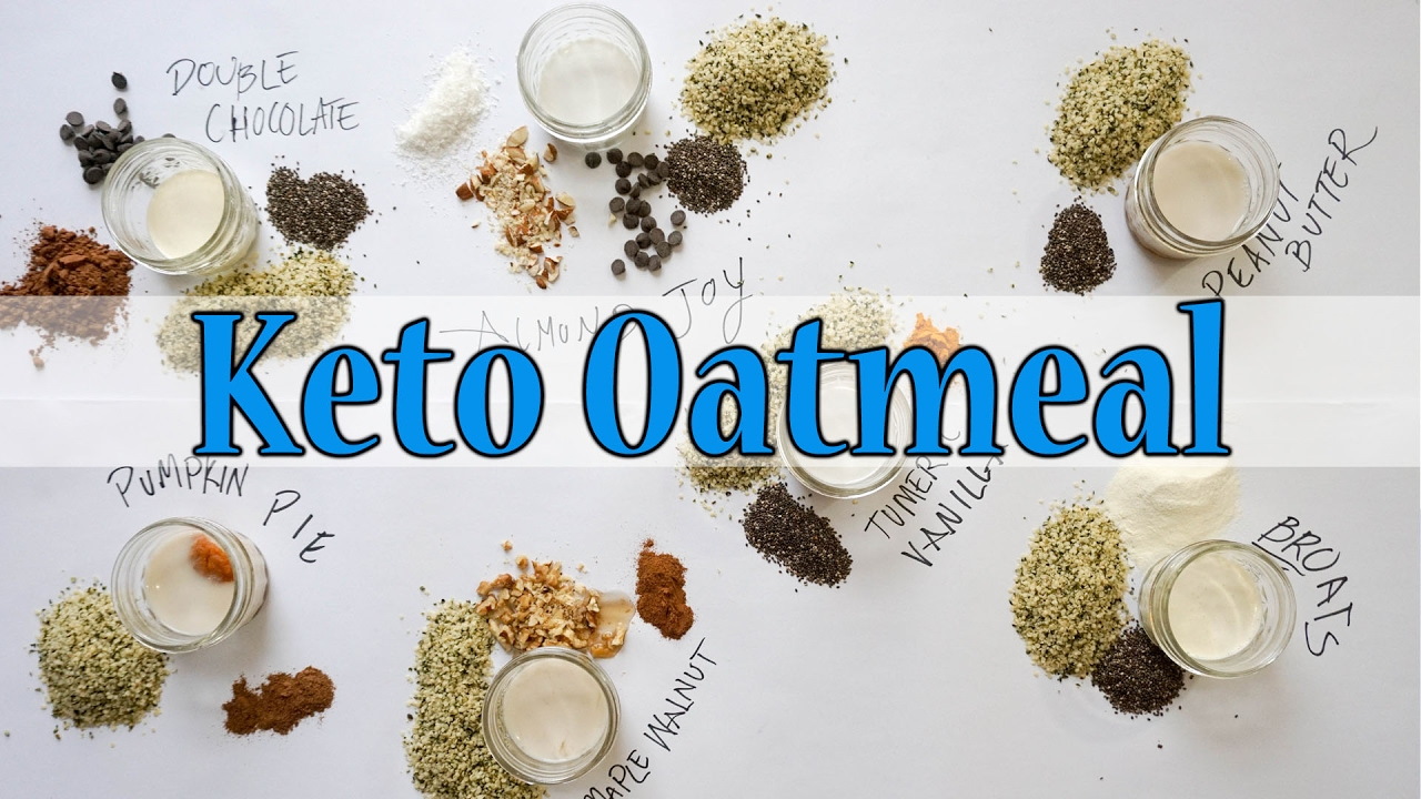 keto diet is oatmeal ok