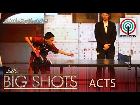 Little Big Shots Philippines: VM | 11-year-old Table Tennis Player