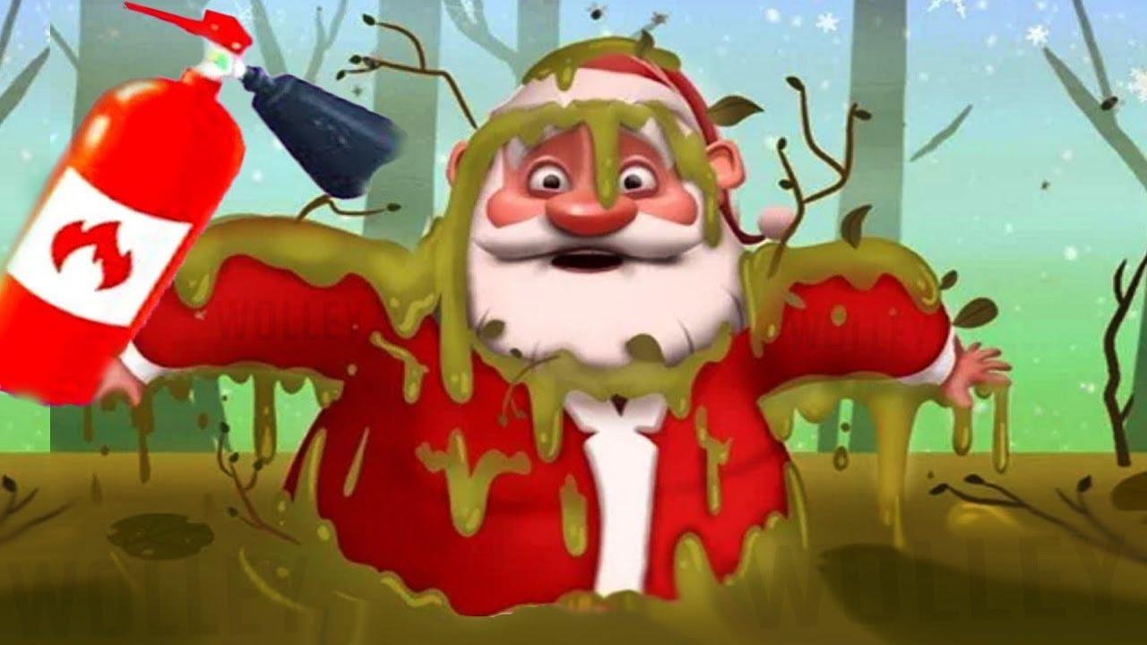 Help Santa save Christmas! Play Crazy Santa Adventure Kids Games ...