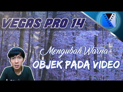 VEGAS PRO 14 - Cara Mengubah Warna Objek Pada Video