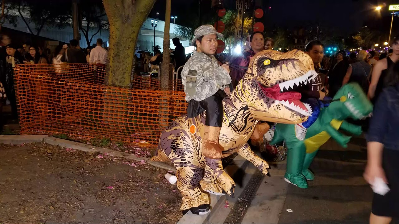 west hollywood halloween carnaval 2017 - youtube
