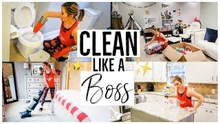 CLEAN WITH ME 2018 💪🏼✨| CLEANING MOTIVATION | Brianna K