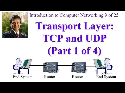 CSE473-11-3A: Internet Transport Layer Protocols: TCP and UDP (Part 1 of 4)