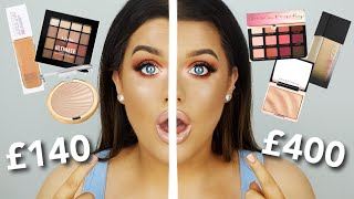 ½ HIGH END ½ DRUGSTORE TUTORIAL/DUPES!..I SEE NO DIFFERENCE?!