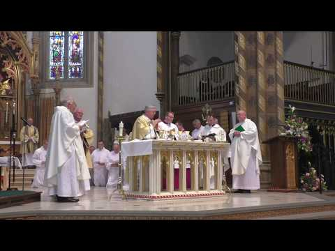 Permanent Diaconate Ordinations for the Archdiocese of Birmingham St Chad's Cathedral