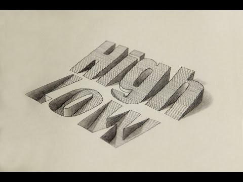 Super Satisfying Calligraphy