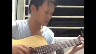 Người Tình Mùa Đông guitar solo [Mitxi Tòng]