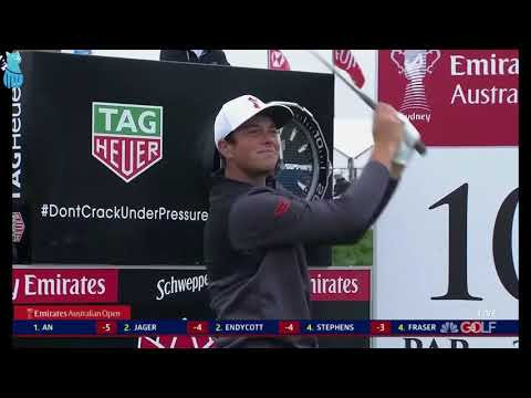 Viktor Hovland's Best Golf Shots 2018 Emirates Australian Open