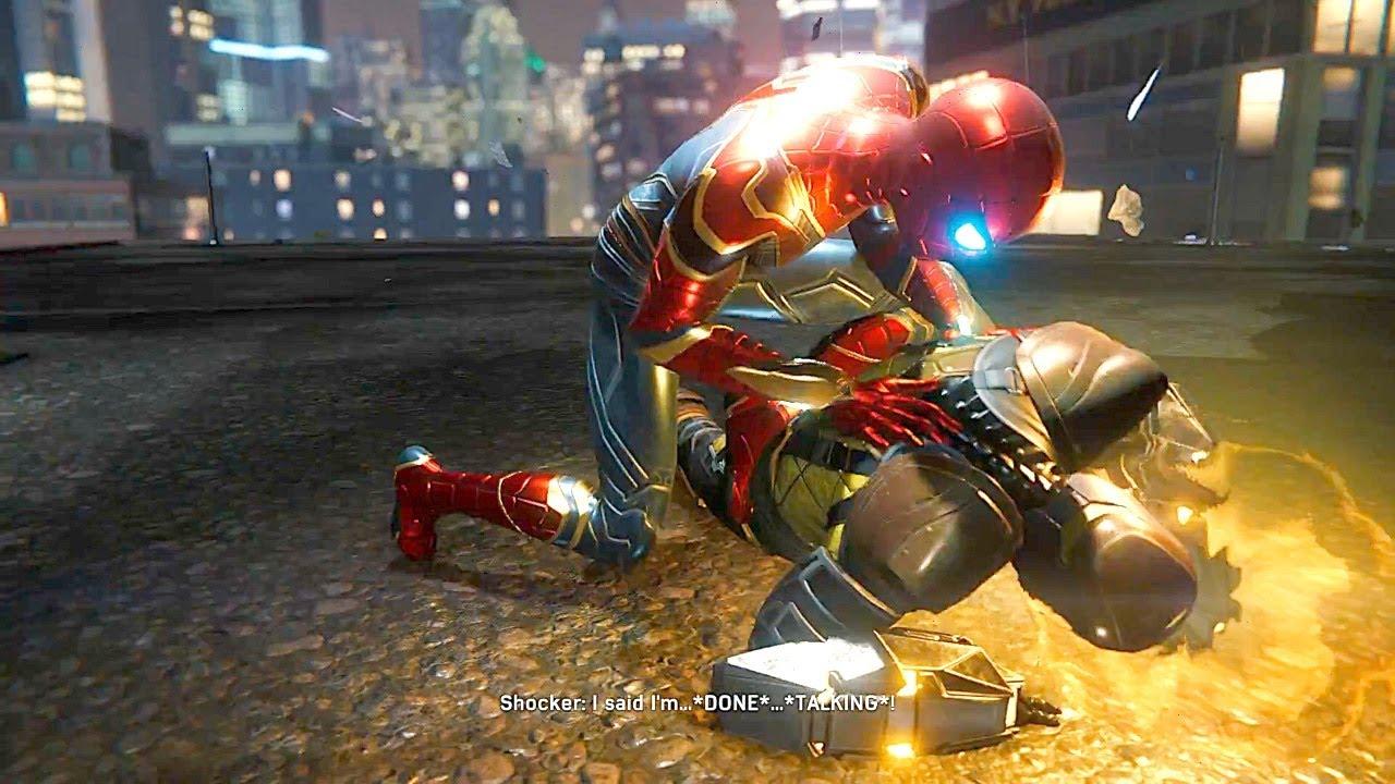 Spider Man Traps Shocker In Tom Holland Suit