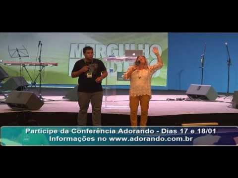 Retrospectiva Escola Adorando 2014 Christie Tristao e Stacey Campbell 14/01/14