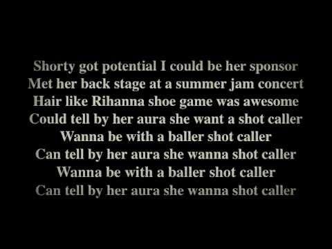 French Montana - Shot Caller - Lyrics