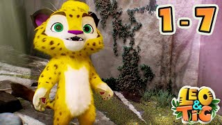 Leo and Tig - All Episodes Online (2-7) - Funny Family Good Animated Cartoon for Kids