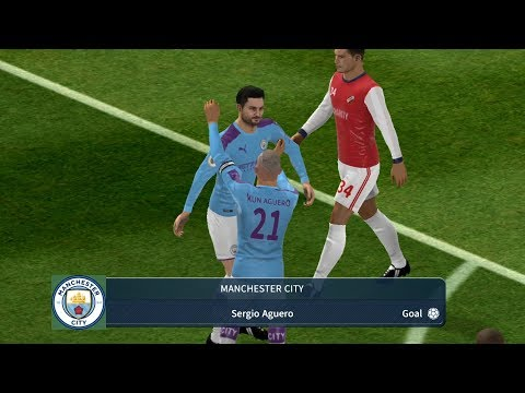 Manchester City -  Arsenal | Dream League Soccer 2019.