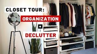 Closet Tour: Organization + Declutter 2019
