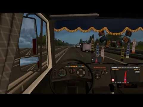 Euro Truck Simulator 2  1 серия Великие Луки Верона Италия 2600км рейс