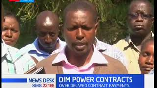 Over 500 Kenya Power contractors demand Kshs. 400 million from the company