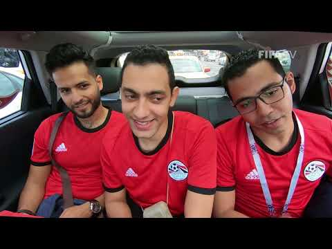 World Cup Driver  - EGYPT!