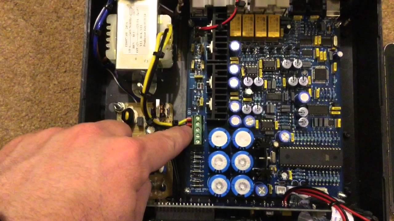 Pcm2704 M62420 Stereo Hifi Preamplifier Tda1315 Tda1305 Youtube