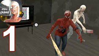 Spider Granny 3 : 5 days Nightmare - Gameplay Walkthrough Part 1 (Android,iOS)