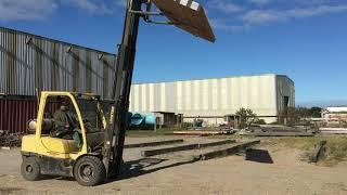 2021 - 14 foot Eucalyptus mat drop test after 600 flips - Five Inch Thickness